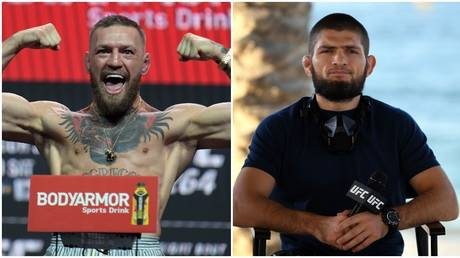McGregor responded after Khabib called him 'evil' and 'dirty'. © USA Today Sports / Zuffa LLC