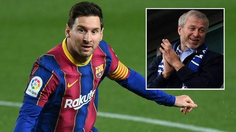 Reports in Spain have claimed Abramovich could move for Messi. © Reuters / AFP