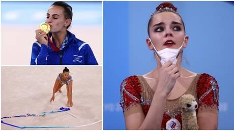 Dina Averina was devastated at finishing behind Ashram of Israel. © Reuters