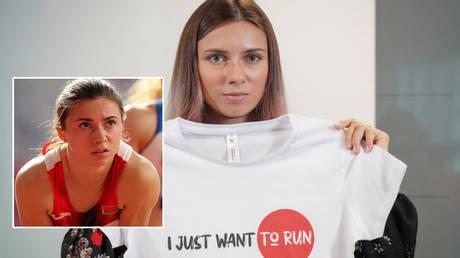 Belarusian athlete Kristina Timanovskaya © Lucy Nicholson / Reuters   © Darek Golik / Reuters