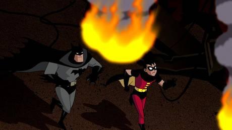 """Batman: Mystery of the Batwoman"" by Jennifer Graves, 2003. © IMDB"