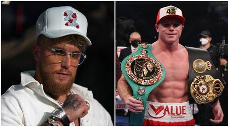 Jake Paul has been cleared of federal trespassing charges and has compared himself to 'Canelo' Alvarez. © USA TODAY Sports