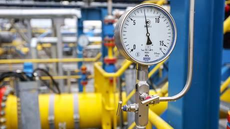 Amursky gas processing plant in Amur region, Russia, July 13, 2021.