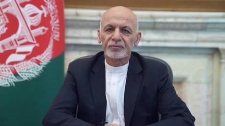 FILE PHOTO: Afghanistan's ousted president, Ashraf Ghani.