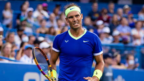 Rafael Nadal has pulled out of the US Open and ended his 2021 season. © USA TODAY Sports