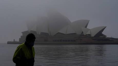 Sydney, Australia during a lockdown.