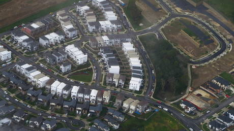 FILE PHOTO: A suburb of Auckland, New Zealand