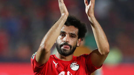 Liverpool moved to restrict Salah's appearances for Egypt. © Reuters