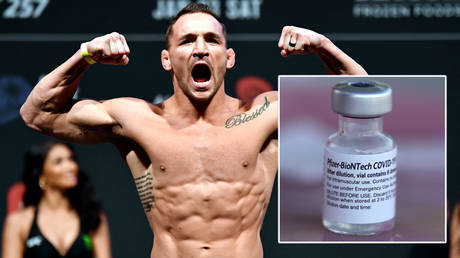 UFC fighter Michael Chandler remains hesitant over Covid-19 vaccines © Jeff Bottari / USA Today Sports via Reuters   © Lucy Nicholson / Reuters