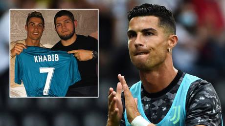 Cristiano Ronaldo should leave Juventus, according to friend and ex-UFC champ Khabib Nurmagomedov (inset, right) © Massimo Pinca / Reuters | © Instagram / cristiano