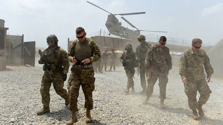 FILE PHOTO. US army soldiers in the Khogyani district in the eastern province of Nangarhar. © AFP / Wakil Kohsar