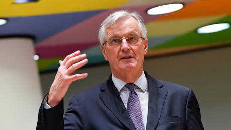 FILE PHOTO. Michel Barnier in Brussels. ©John Thys /Pool via REUTERS