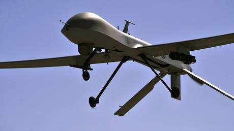 FILE PHOTO. MQ-1B Predator drone.