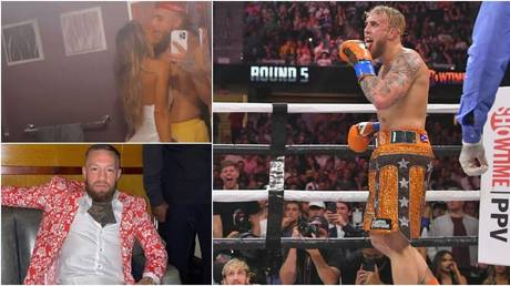 'What winning looks like': Jake Paul posts cheeky snap with lover Rose, mocks McGregor over gate size