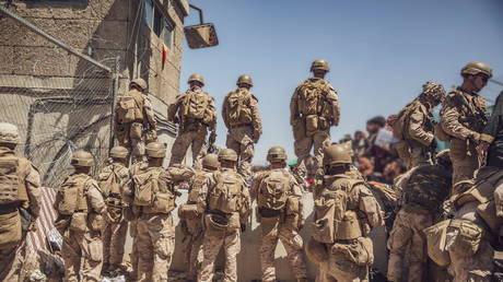 Hamid Karzai International Airport, Kabul, Afghanistan, (FILE PHOTO) © Staff Sgt. Victor Mancilla/U.S. Marine Corps/Handout via REUTERS