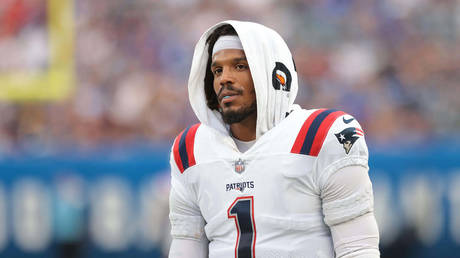 Cam Newton is set to be cut by the Patriots. © USA Today Sports