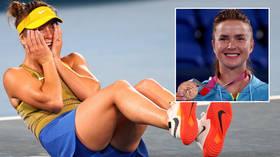 Ukraine president Zelensky lauds 'wonderful' Svitolina for winning 1st Olympic tennis medal since independence with epic comeback