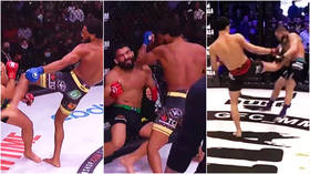 A.J. McKee dominates in Bellator's $1 million match as Khabib continues to oversee Russian 'takeover' of US fight league