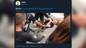 UN special rapporteur on torture requests info after video shows German police officer throwing elderly woman to ground