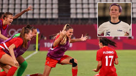 'Everyone laugh at the USWNT': Megan Rapinoe and USA teammates brutally mocked following shock Olympic Games defeat to Canada