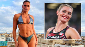 'I can't do this': Canadian Olympic pole vaulter & OnlyFans star laments a 'shi*t year' after failing with all 3 attempts at Games