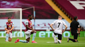 Premier League football stars claim taking knee 'more important than ever' as clubs commit to continuing gesture into new season