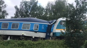 3 dead and dozens injured as trains collide in village of Milavce in western Czech Republic