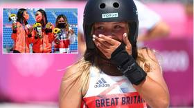 Skateboard star Sky Brown makes history for Britain with Tokyo bronze at age 13 – but EVEN YOUNGER Japanese rival finishes higher