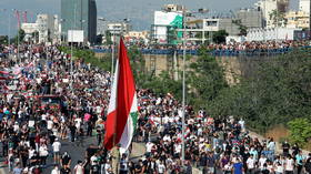 Protesters hit streets of Beirut as Lebanon marks one-year anniversary of devastating port explosion (VIDEOS)