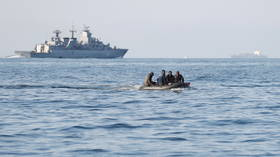 Military drills stopped due to migrant landings after Britain registers record number of channel crossings
