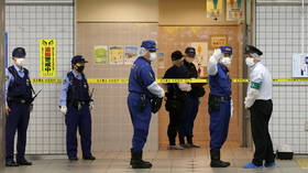 Suspect in Tokyo train stabbing in which 10 were injured sought to kill 'women who looked happy' – media