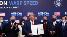 Trump takes credit for Covid vaccine rollout that saved '100 million people,' but says inoculation should be voluntary