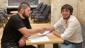 'It's better than Messi!' Russian 3rd-tier football club in Dagestan hint at signing Khabib in bid for Russian Cup glory