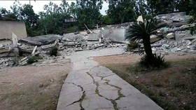 5.8-magnitude tremor rocks Haiti as it reels from devastating quake that killed over 300