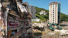 Disastrous floods kill 70 in Turkey's Black Sea provinces, 47 people still missing