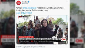 CNN reporter in Kabul mocked for clip saying Taliban fighters 'seem friendly' after some shout 'death to America!'