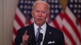 Biden blames Taliban's success & last-minute evacuation from Afghanistan on failures of Ghani's government