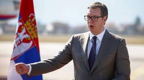 'Ban me like Trump!' Serbian president dares Twitter, as media labeled 'govt collaborators' invoke Nazi censorship & NATO bombing