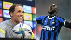 Net returns: Chelsea boss Tuchel jokes he expects '50 or 60 goals' from record signing Lukaku before Christmas