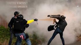 SHOOTING erupts as Antifa & Proud Boys clash violently in Portland (VIDEOS)