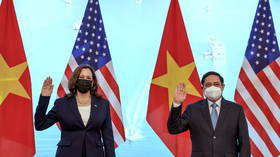 US VP Harris tells Vietnam to 'raise pressure' on Beijing, as Chinese media accuse Washington of sowing divisions in Asia