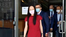 Beijing blasts American exploitation and coercion as Huawei executive Meng Wanzhou's detention reaches 1,000 days