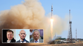 Russia invites Elon Musk, Jeff Bezos & Richard Branson to launch of rocket taking crew to record first feature-film shot in space