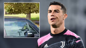 'Now he leaves': Juventus boss Allegri reveals Ronaldo gave him no notice of exit as superstar 'drives away for last time' (VIDEO)