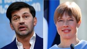 European journalists slam Ukraine's Zelensky for banning independent media outlet Strana & threatening 'press freedom'
