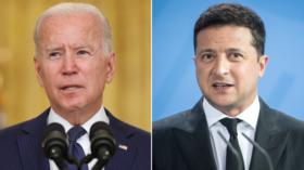 Biden-Zelensky meeting postponed AGAIN after Ukrainian president blasts Western states for not sending leaders to Crimea summit