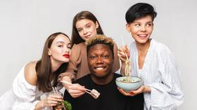 Russian sushi chain apologizes for advert featuring black man after far-right group targets it for 'promoting multiculturalism'