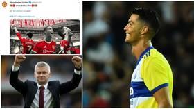 Ronaldo 'overwhelmed' as Man Utd complete signing and ecstatic Solskjaer hails 'marvelous player & great human being'