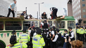 Too white & middle class: XR's chaotic protests show EXACTLY why people of colour rarely get involved in eco activism