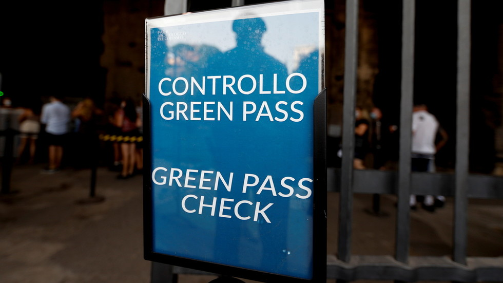 Italy makes Covid-19 health pass mandatory for all workers & anyone without it faces suspension with NO PAY